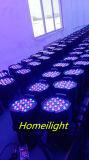 54 lumière de PARITÉ de couleur de mélange de X 3W pour la disco de lumière de musique de lampe d'usager de club