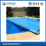 A força de alta elasticidade durável personalizou o encerado laminado PVC da associação