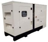 звукоизоляционный тепловозный генератор 90kVA с двигателем 1006tg1a Lovol для проектов здания