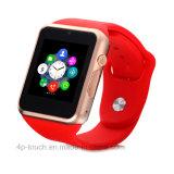 Цветастый телефон wristwatch Bluetooth франтовской с гнездом для платы SIM (A1)