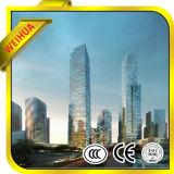 Weihua a isolé la glace en verre creuse en verre de double vitrage pour la construction