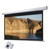 Экран с электроприводом, проекционный экран, проектор с электроприводом экран с высоким качеством матовый белый (ES150V)