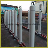 Aduana cuatro cilindro hidráulico telescópico de las etapas/cinco etapas