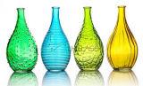 Heet verkoop Vaas van het Glas van de Fles van het Glas de Kleurrijke voor de Decoratie van het Huis