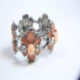 De nieuwe Halsband van de Armband van de Oorring van de Juwelen van de Manier van de Stenen van het Glas van de Hars van het Punt Acryl
