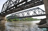 生産のCustomedの鉄骨構造橋