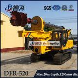 DFR-315 tablestacas conductor-máquina