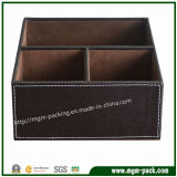 2016 Alta qualidade Multifuncional Handmade Custom Leather Desktop Stationery Set