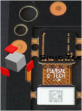 máquina em linha da marcação do laser da fibra do baixo preço 3D para a máquina de gravura do metal/laser de vidro