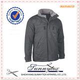 Водонепроницаемая и дышащая Зимняя куртка мужчин Parkas для установки вне помещений