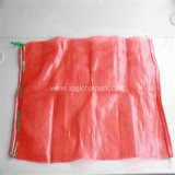 Haute qualité Vegetablestubular Leno Mesh Bag rouge