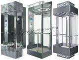 besichtigenpassagier-Aufzug des höhenruder-1.75m/S mit kleinem Maschinen-Raum
