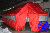 일요일 Proof Steel Structure Tensiile Military Tent 방수 처리하거든
