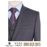 OEM 3 Pieces Slim Fit Men's Leisure Suit