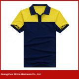 Usine 100% de T-shirt de polo de sports d'hommes de son du polyester deux (P95)