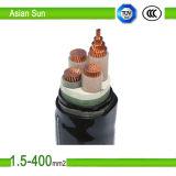 Condutores de cobre Isolados em XLPE revestimento de PVC cabo de alimentação