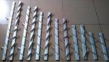 Finestra di vetro della feritoia del blocco per grafici di alluminio di prezzi competitivi con le lamierine registrabili