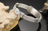 Armband de van uitstekende kwaliteit van de Juwelen van het Netwerk van het Roestvrij staal van de Manier