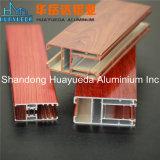 ガラス滑走のWindowsおよびドアのための木カラーアルミニウムプロフィール