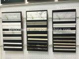 Mosaico de mármol barato del precio del azulejo de suelo del cuarto de baño, blanco y negro