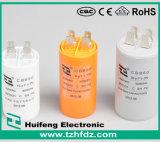 Condensador de Motor CA com VDE. CE. RoHS. Aprovações CQC (CBB60)