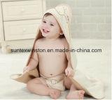 赤ん坊の浴室タオルの/Hoodedタオルの赤ん坊毛布