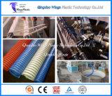 Flexible d'aspiration en PVC Extrusion Enroulement hélicoïdal de ligne / en plastique flexible renforcé Making Machine