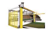 China cartulina acanalada de 5 capas que hace la cadena de producción de máquina