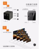 Ультра миниый репроектор самое малое Proyector DLP с гнездом для платы TF микро- SD