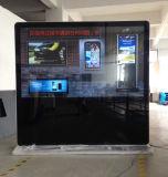 84 Zoll Uhd grosse bekanntmachende Bildschirmanzeige mit Nettoarbeit stehend
