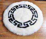 Esteira de porta grande do tapete do assoalho do tapete da pele de carneiro do luxuoso do tamanho