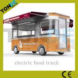 Camion elettrico mobile del gelato di vendita calda