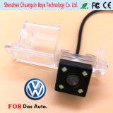 Le mini appareil-photo de véhicule avec 4 éclairages LED s'est ajusté pour le polo Magotan Passat cc de golf de Volkswagen 2011