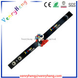 Bracelet de bracelet de PVC de dessin animé de la douane 3D pour la promotion Gfit