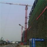 中国の工場提供のセリウムSGSの平屋建家屋12tのタワークレーン