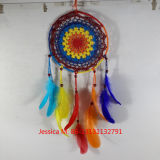 Beautiful Feather Wall Hanging Stone Wind Chimes