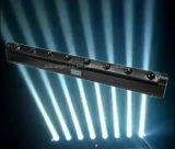8X10W 8 LED blanco de la barra de haz de luz