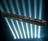 8X10W 백색 LED 8 광속 바 빛