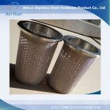 Корпус из нержавеющей стали с перфорацией трубки масляного фильтра