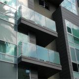 6.38-42.3mm de vidro laminado temperado balaustradas/ grades de proteção