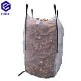 Grand sac de bois de chauffage avec les boucles inférieures des frais supplémentaires 2 pour le déchargement
