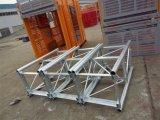 2t grúa de construcción de la jaula único ascensor realizado por Hsjj