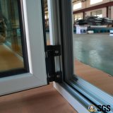 Ventana interna con el bloqueo multi, ventana de aluminio, ventana K04012 de la inclinación y de la vuelta del perfil de aluminio termal de la rotura