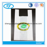 Printed T-Shirt Shopping Plastic Bag for Food Packaging