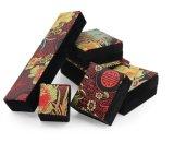 Eleganter Chinese-charakteristischer gestickter Muster-Schmucksache-Kasten, Ring-Kasten, hängender Kasten, Halsketten-Kasten