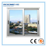 Roomeye Design plus récent UPVC / PVC en plastique coulissant vitre en verre
