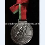 Medalla de encargo de la aleación del cinc con el acollador para las recompensas
