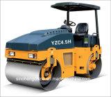 Costipatore vibratorio del rullo compressore del buon timpano idraulico di prezzi in pieno doppio 4.5 tonnellate