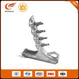 Tipo braçadeira do parafuso da liga de alumínio de Nll de tensão aérea resistente