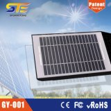 リチウム電池7.4V 4000mAhが付いている太陽センサーの庭ライト